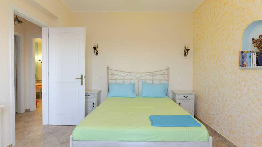 bedroom with the double bed