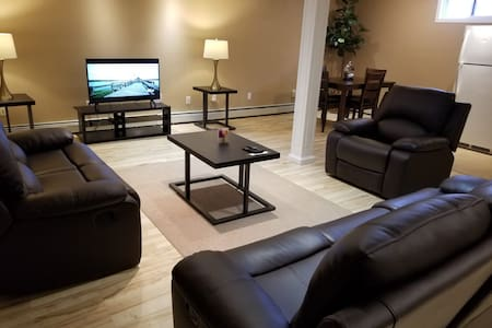 Cozy, comfy suite basement near prairie mall
