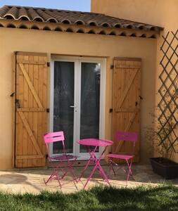 Chambre privée avec piscine et SDB balnéo - Saint-Maximin-la-Sainte-Baume - Casa