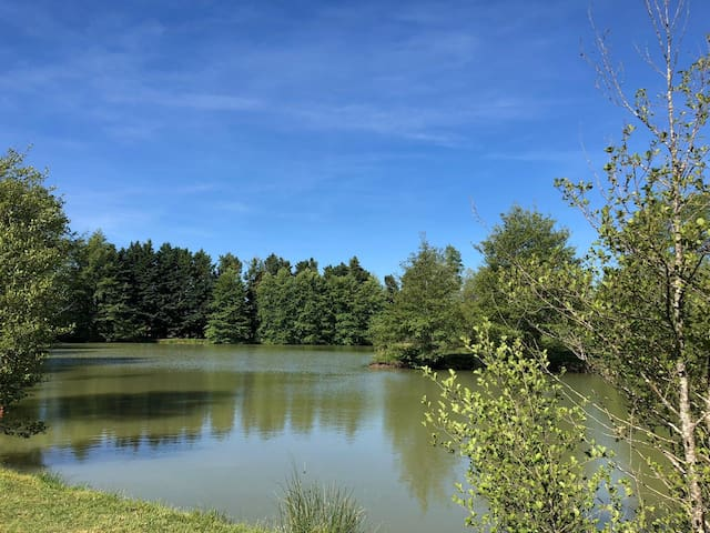 Twin Lakes, Souméras France - spacious caravan
