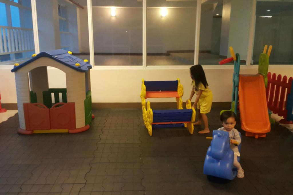 Playground inside building