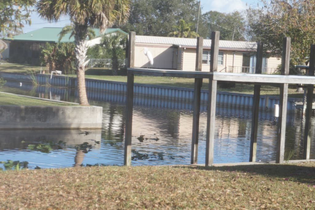 Cozy comfortable fish camp houses for rent in for Lake okeechobee fish camps