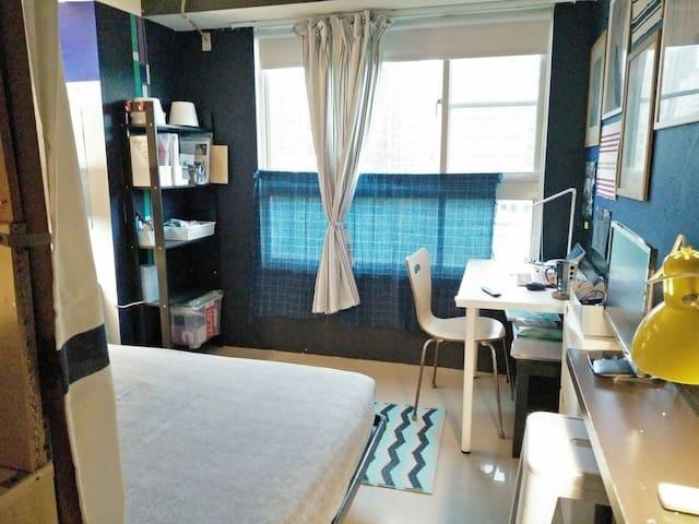 月租 經典套房 樹海 +花園, The Cozy En suite @美術館,凹子底站公車直達 )