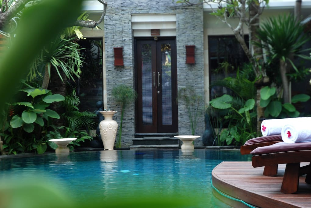 Enjoy your very own private pool