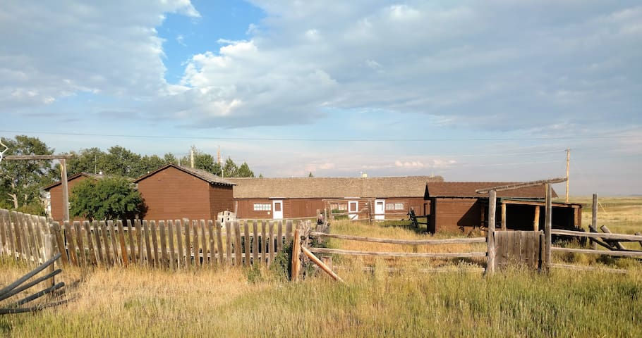 Westerly View of Cabins