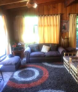 Lican Ray Casa Familiar a metros de la Playa - Villarica