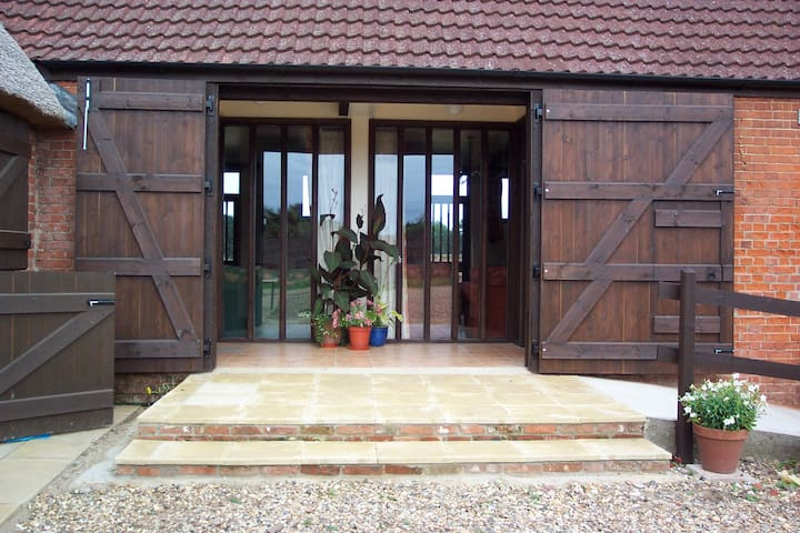 Rural Barn conversion in Broads National Park