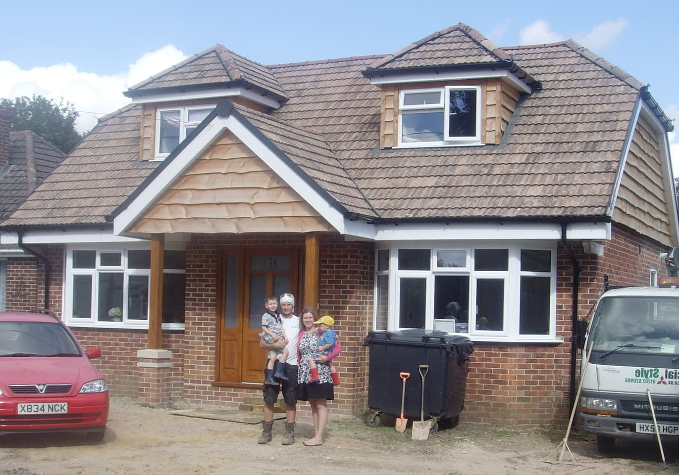 Recently refurbished family home