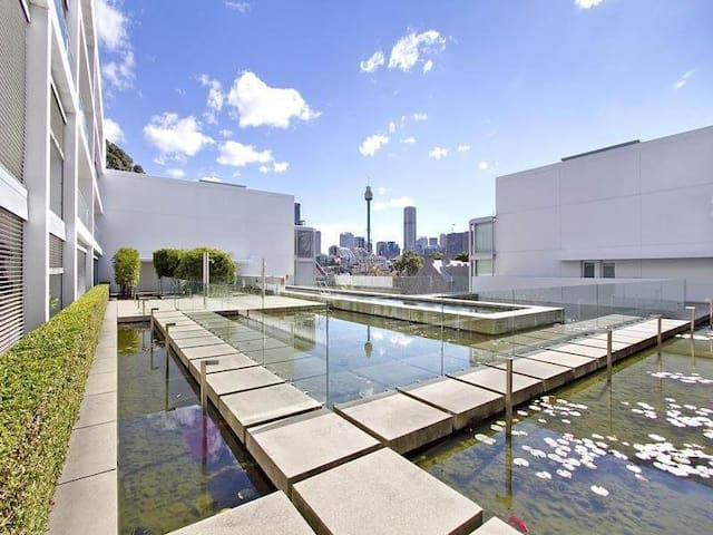 Two bedroom, pool, gym, parking amazing location