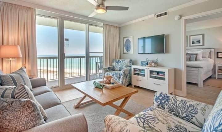 Gulf Views-Dolphin Sightings! Beachfront Property!