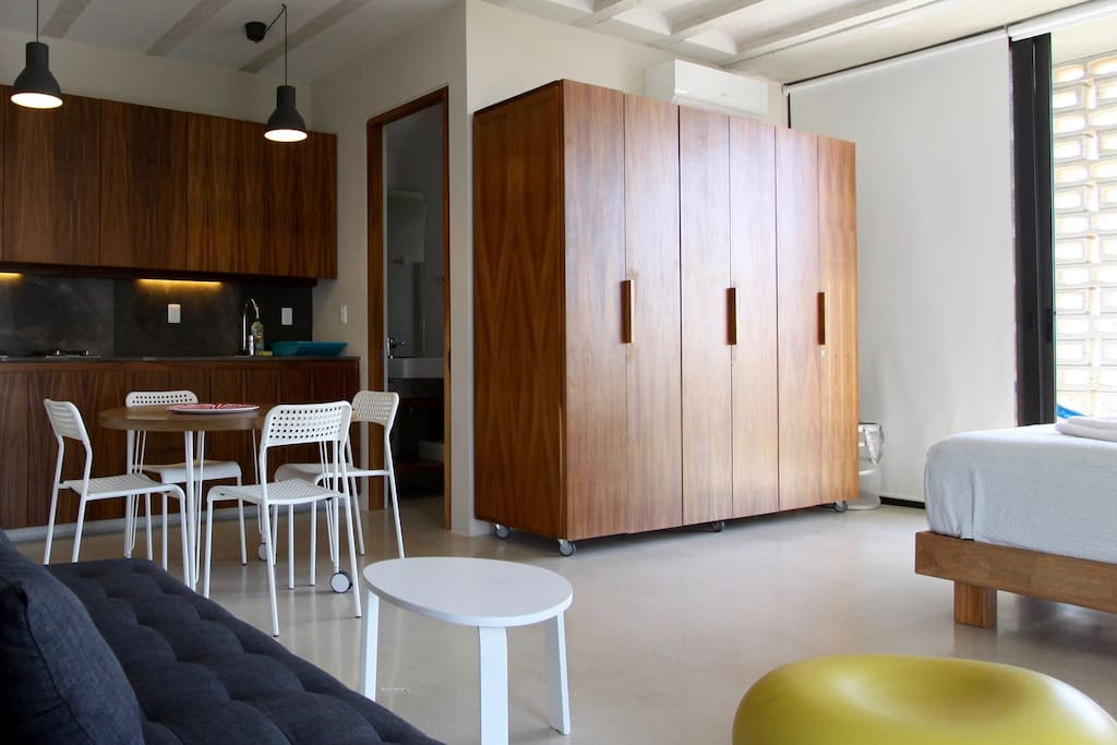 45 square meters studio close by the caribbean flats for. Black Bedroom Furniture Sets. Home Design Ideas