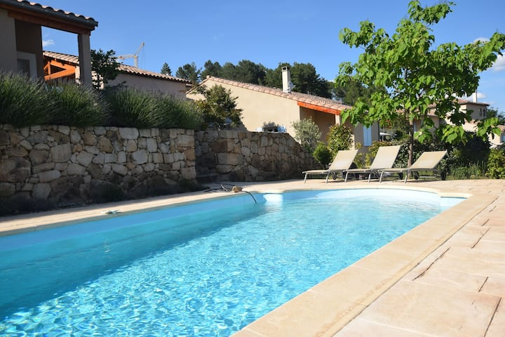 Charming Villa at Joyeuse France with Private Swimming Pool