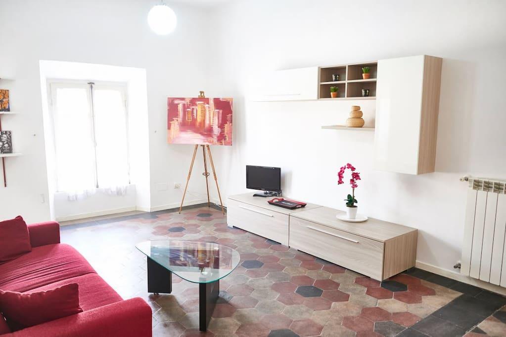 Claudia 39 s design apartment in rome 39 s center apartments for Apartment design rome