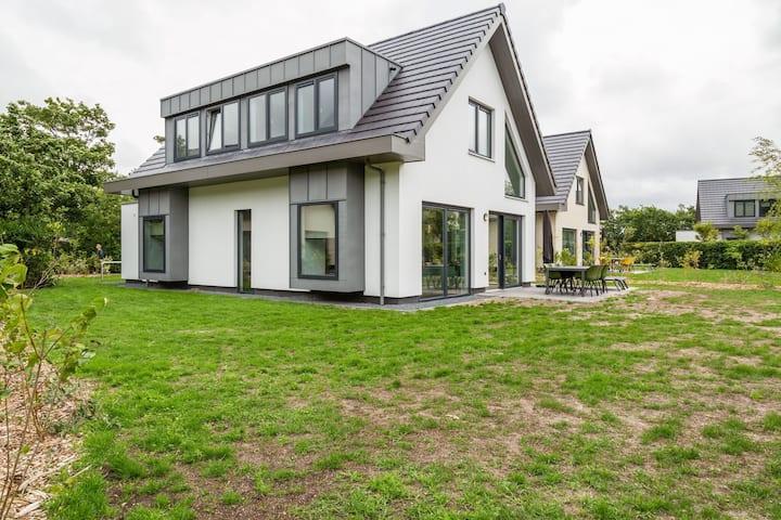 Casa de lujo para 6 personas en la isla de Texel con sauna y ducha solar