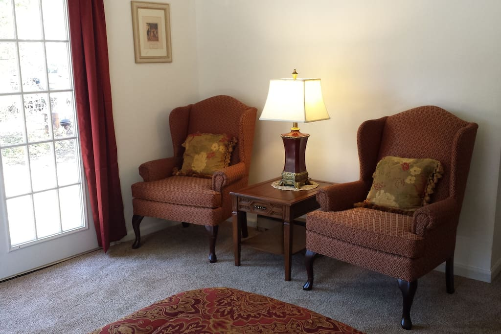 Sitting Area Master Suite
