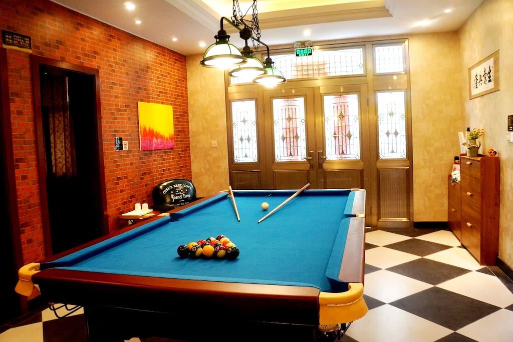 1层娱乐室(台球/乒乓球)
