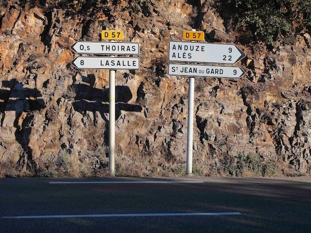 Notre carrefour! Our crossroads