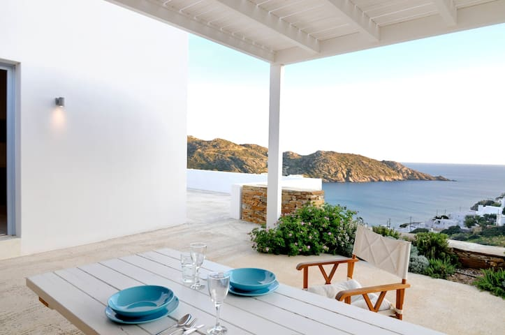 Theros apartments Mylopota Bay - Cyclades