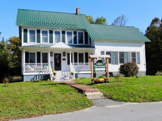 The Inn at Santanoni, a perfect spot to stay while visiting the Santanoni Preserve or hiking the Adirondacks.