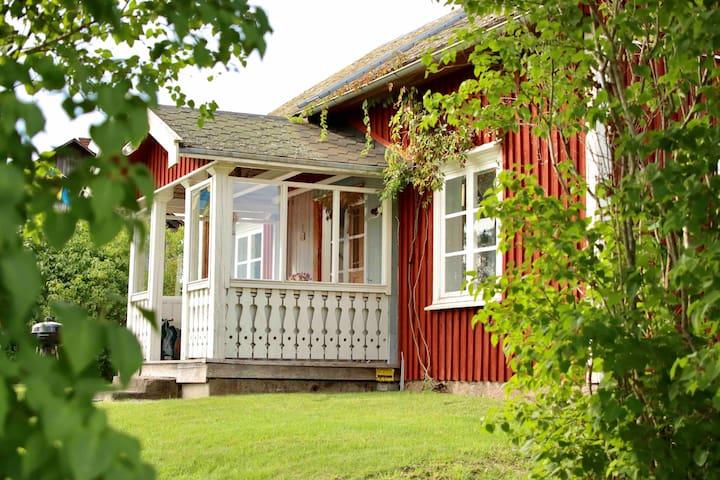 Old classic swedish house
