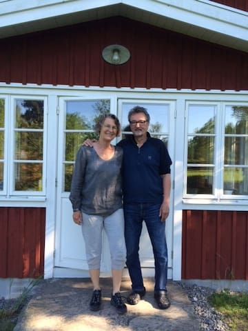 Charmerende stort feriehus med sauna i Urshult