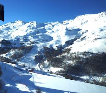Les Menuires appartement 4/6 pers. skis aux pieds - Saint-Martin-de-Belleville - Apartment