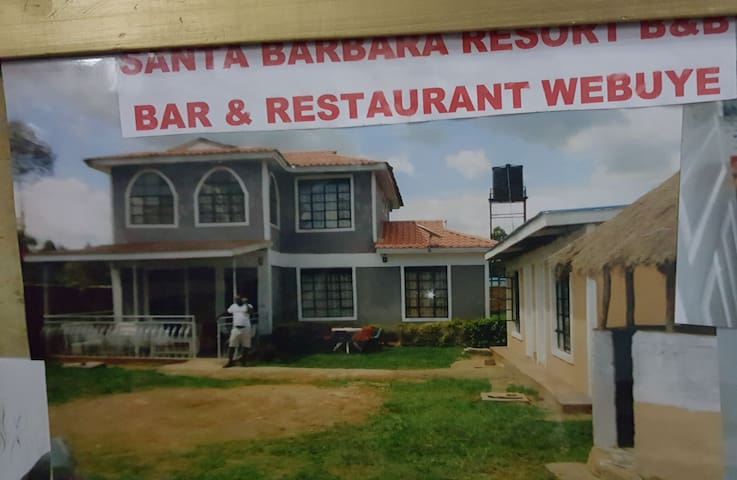 Santa Barbara Resort Webuye . Serene atmosphere