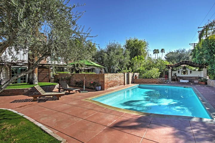 Look forward to many perfect pool days at this California abode.