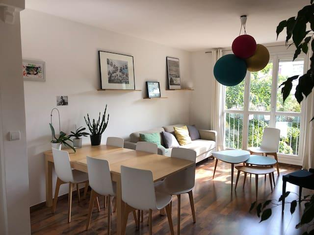 Appartement tout confort et calme