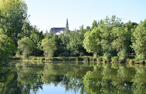 To discover: Detached house on the Loire