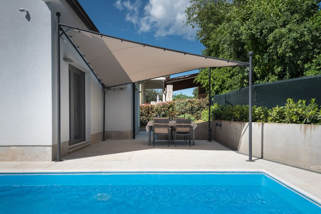 Pool area and terrace