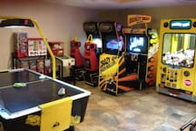 Keep the kids entertained at this thrilling arcade