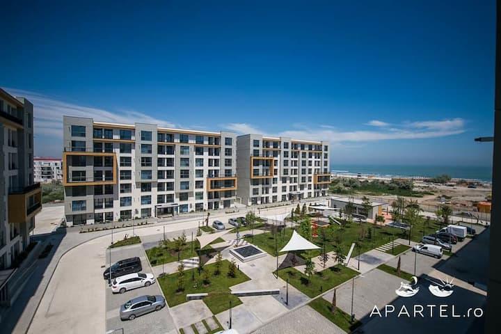 Apartament 2 camere Mamaia Nord Complex Onix Blue