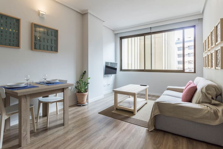 Chamartin and Plaza de Castilla 4, Apartment