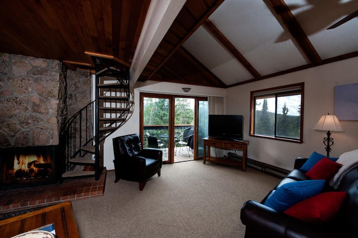 Pet Friendly - Affordable Ski in/Ski Out Condo - New Furniture - Views & Deck