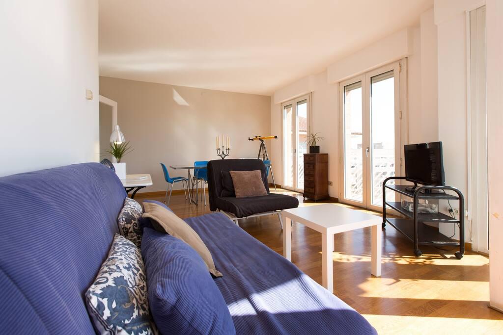 Penthouse in villa olimpica appartamenti in affitto a for Appartamenti barcellona affitto mensile
