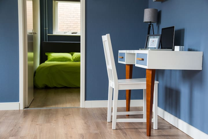 Writing Desk and Bedroom