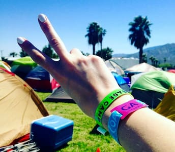 Base Camp: Off-Site Coachella Festival Camping - Thermal