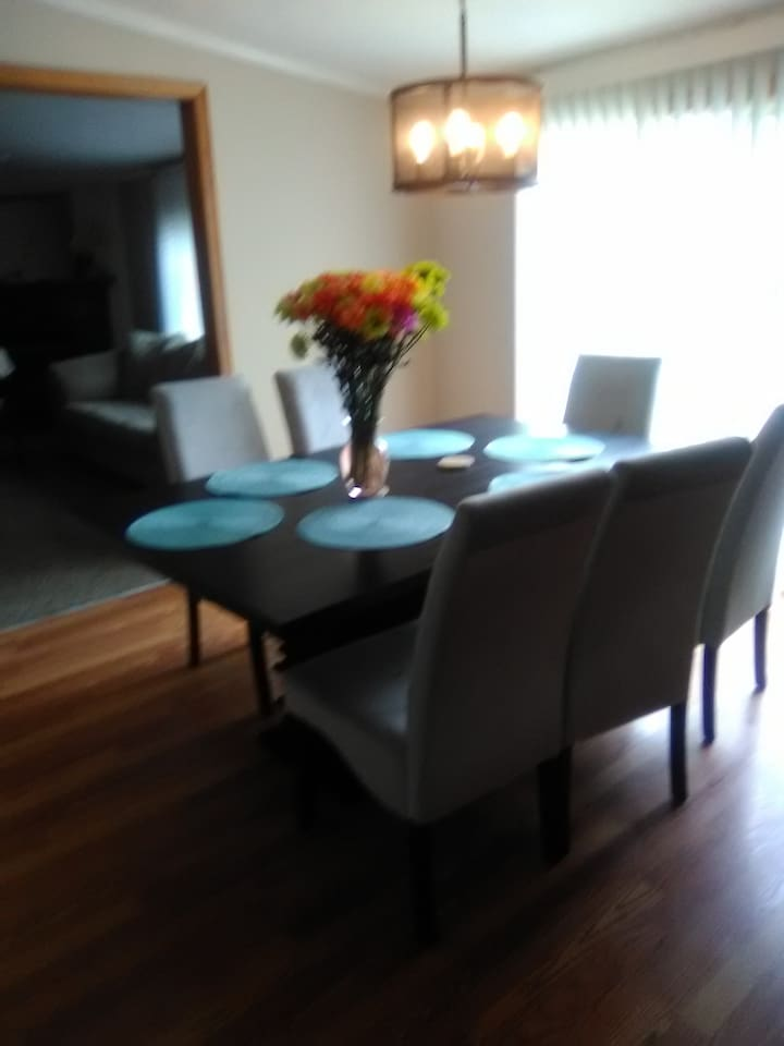 THIS IS THE DINING  ROOM