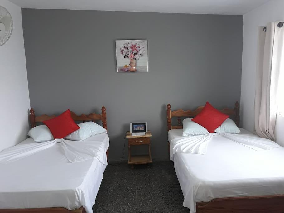 Bedroom (2 queen beds)