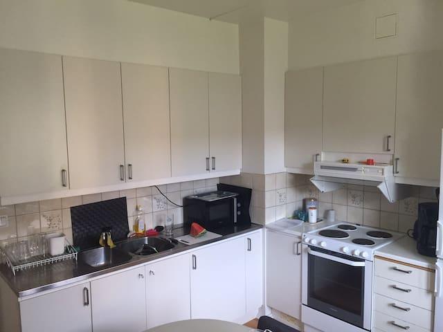 Citynära lägenhet för familj eller mindre sällskap