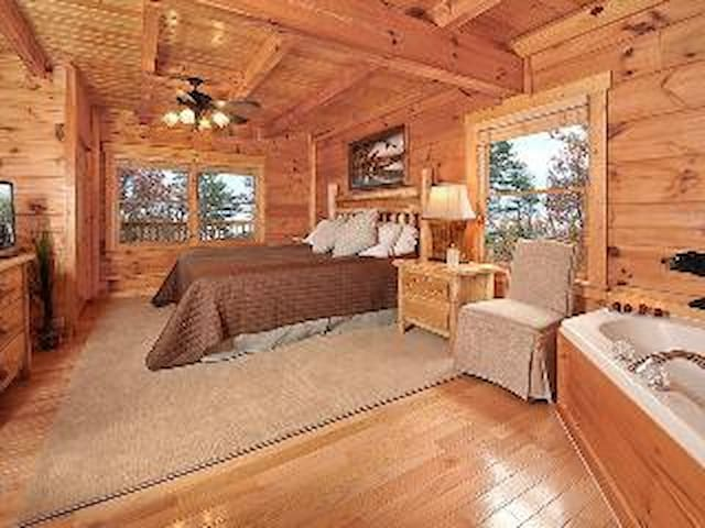 Master bedroom and bath on main level