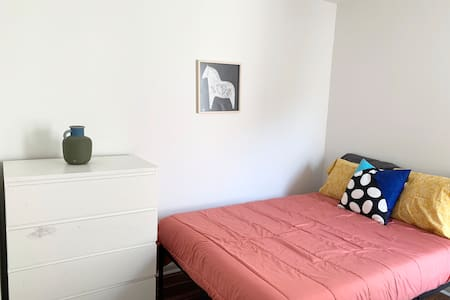 Contemporary room in a new home, West Philadelphia