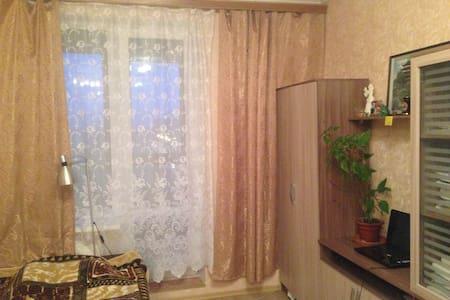 Уютная   новая студия на берегу Невы с  балконом. - Sankt-Peterburg