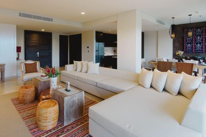 ★ Ocean View 3BR Luxurious Apt at AYANA Jimbaran ★