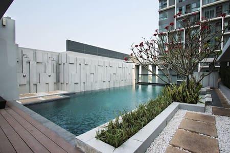 超值!豪华一房一厅一厨房公寓3分钟到BTS On Nut  可住3人 - bangkok - Apartment