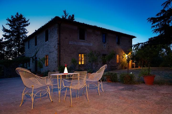 Beautiful stone farmhouse Chianti