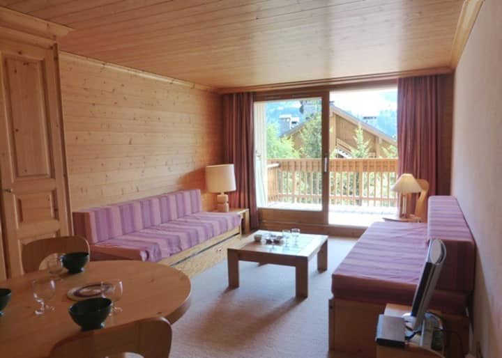 Lovely studio for 3 pers. in Meribel in Le BELVEDERE neighbourhood close to slopes and hotel Allodis, stunning vew