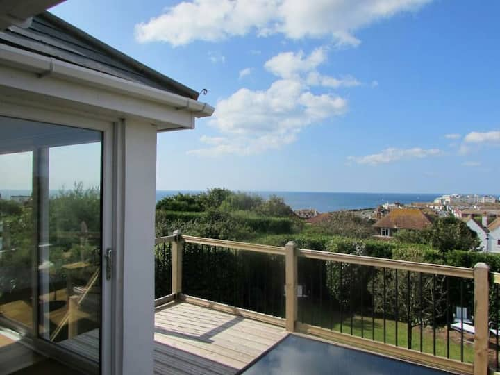 'Eclipse' a beautiful property with sea views.