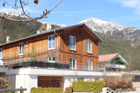 Fantastic large apartment with mountain view